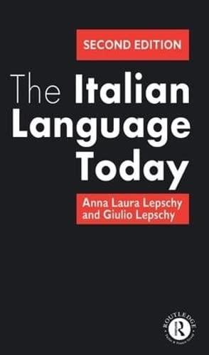9781138146976: The Italian Language Today