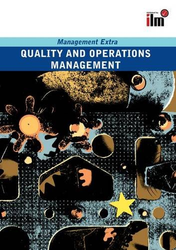 Quality and Operations Management: Revised Edition: ELEARN,