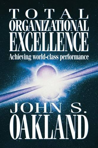 9781138149397: Total Organizational Excellence