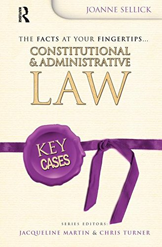 9781138154568: Key Cases: Constitutional and Administrative Law