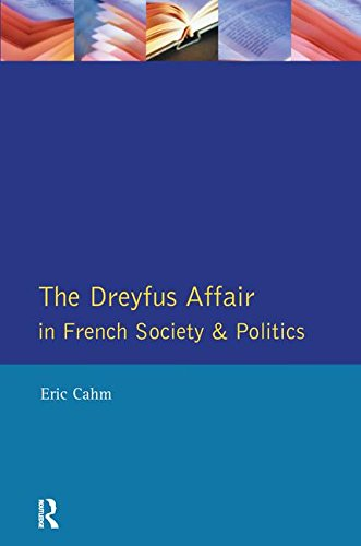 9781138157620: The Dreyfus Affair in French Society and Politics