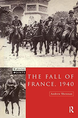 9781138160514: The Fall of France 1940 (Turning Points)
