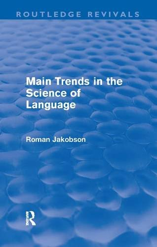 9781138163331: Main Trends in the Science of Language (Routledge Revivals)