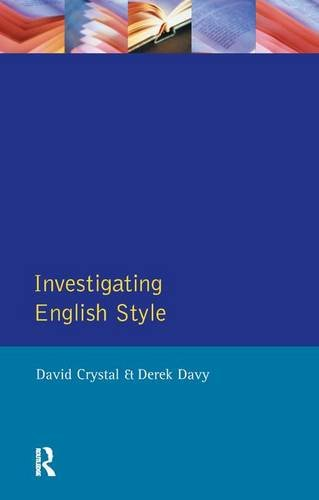 9781138167544: Investigating English Style