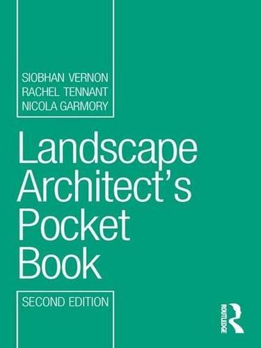 9781138167742: Landscape Architect's Pocket Book (Routledge Pocket Books)