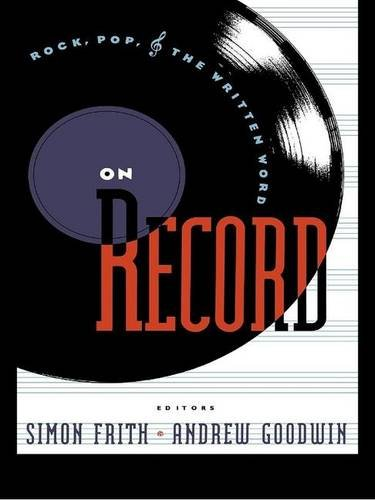 9781138167995: On Record: Rock, Pop and the Written Word