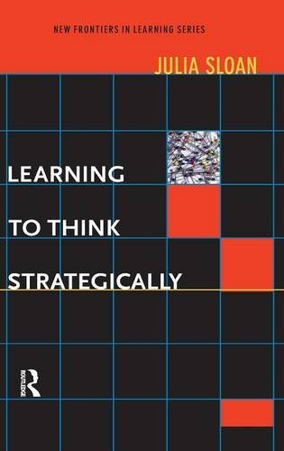9781138168121: Learning to Think Strategically (New Frontiers in Learning)