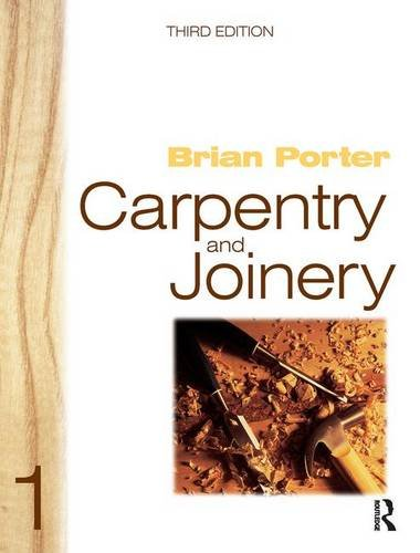 9781138168169: Carpentry and Joinery 1, 3rd ed