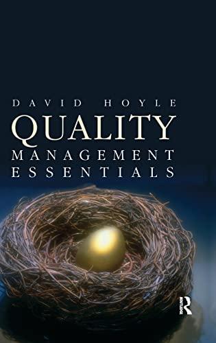 Quality Management Essentials: HOYLE, DAVID
