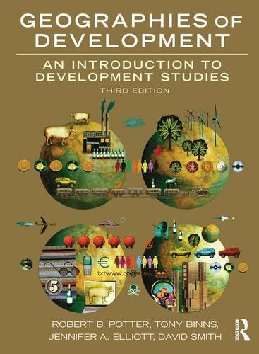 9781138170292: Geographies of Development: An Introduction to Development Studies
