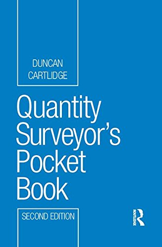 9781138170308: Quantity Surveyor's Pocket Book (Routledge Pocket Books)