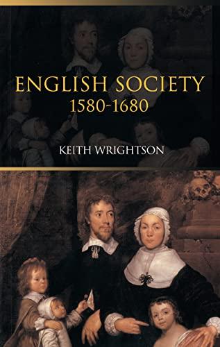 9781138171053: English Society 1580–1680