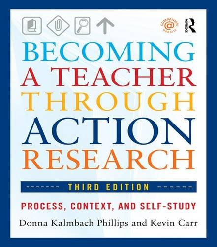 9781138171077: Becoming a Teacher through Action Research