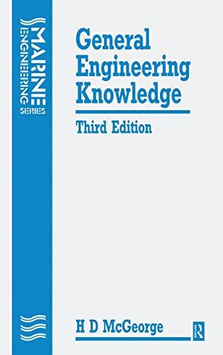 9781138171145: General Engineering Knowledge, Third Edition (Marine Engineering)