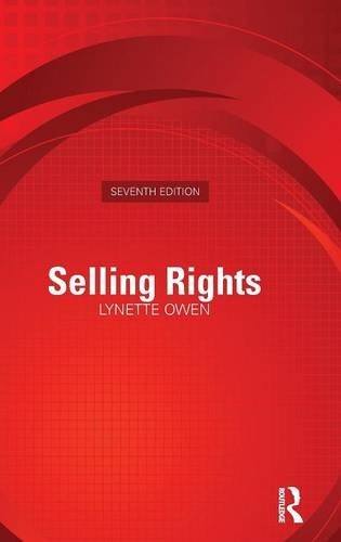 9781138171244: Selling Rights