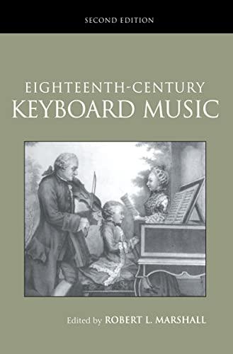 9781138171329: Eighteenth-Century Keyboard Music (Routledge Studies in Musical Genre)