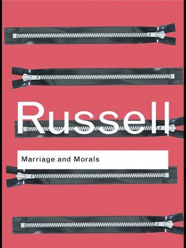 9781138171404: Marriage and Morals (Routledge Classics)
