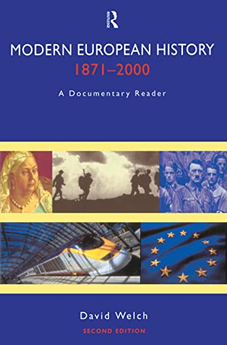 9781138171497: Modern European History, 1871-2000: A Documentary Reader