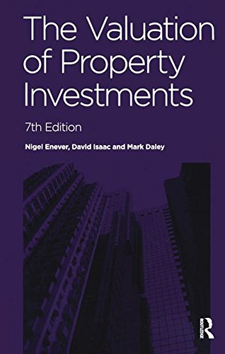 9781138171589: The Valuation of Property Investments