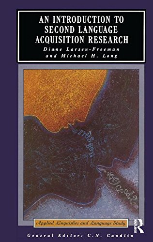9781138171626: An Introduction to Second Language Acquisition Research (Applied Linguistics and Language Study)