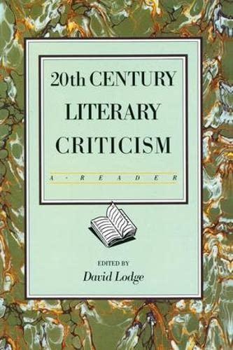 9781138172210: Twentieth Century Literary Criticism: A Reader