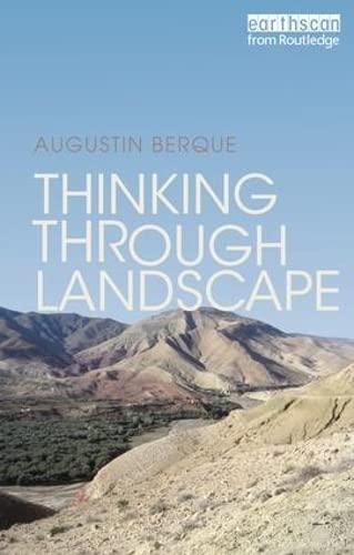 9781138172272: Thinking through Landscape