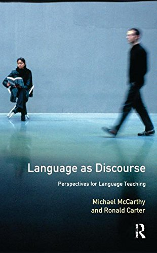 9781138172937: Language as Discourse: Perspectives for Language Teaching (Applied Linguistics and Language Study)