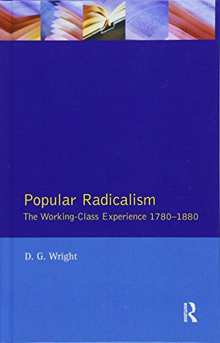 9781138172944: Popular Radicalism: The Working Class Experience 1780-1880 (Studies In Modern History)
