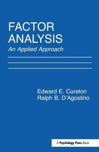 9781138179240: Factor Analysis: An Applied Approach