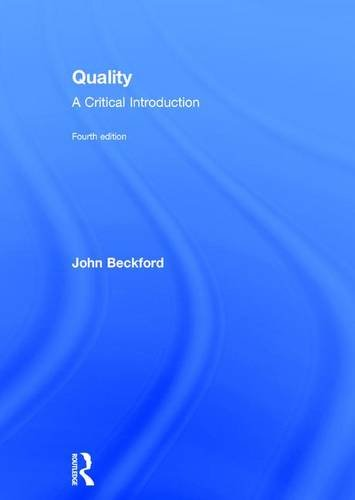 9781138186095: Quality: A Critical Introduction