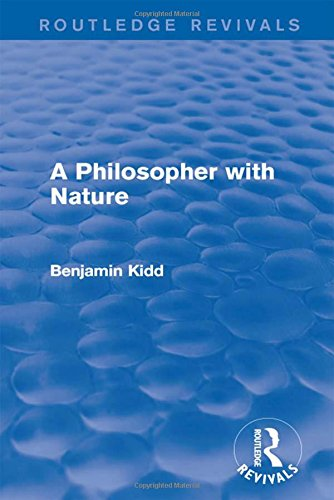 9781138187634: A Philosopher with Nature (Routledge Revivals)