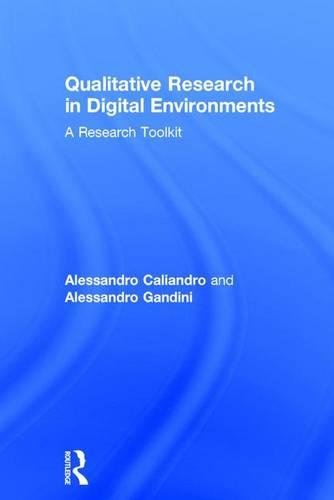 9781138188686: Qualitative Research in Digital Environments: A Research Toolkit