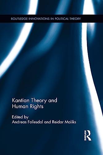 9781138194502: Kantian Theory and Human Rights