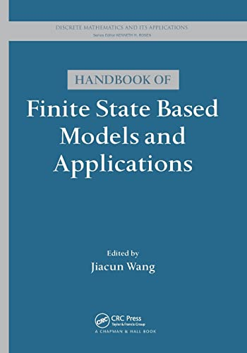 9781138199354: Handbook of Finite State Based Models and Applications (Discrete Mathematics and Its Applications)