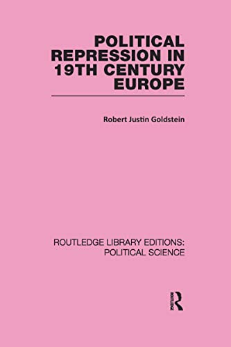 9781138200432: Political Repression in 19th Century Europe (Routledge Library Editions: Political Science)