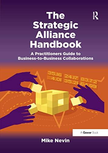 9781138212763 the strategic alliance handbook a practitioners rh abebooks com