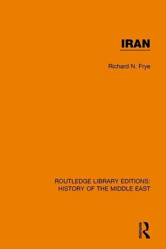 Iran: FRYE, RICHARD N.