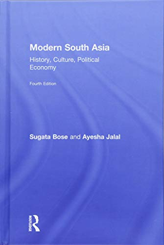 9781138243637: Modern South Asia: History, Culture, Political Economy