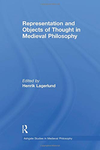 9781138249721: Representation and Objects of Thought in Medieval Philosophy
