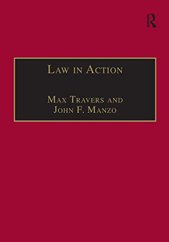 9781138250161: Law in Action: Ethnomethodological and Conversation Analytic Approaches to Law (Socio-Legal Studies)