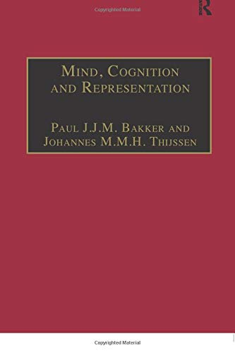 9781138250178: Mind, Cognition and Representation (Ashgate Studies in Medieval Philosophy)