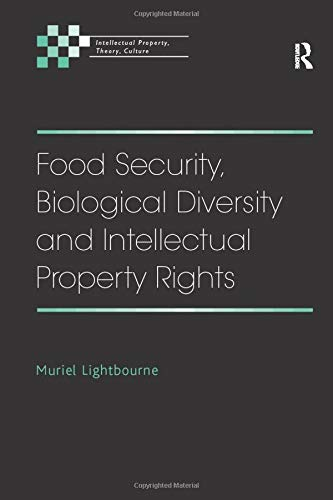 9781138267855: Food Security, Biological Diversity and Intellectual Property Rights (Intellectual Property, Theory, Culture)