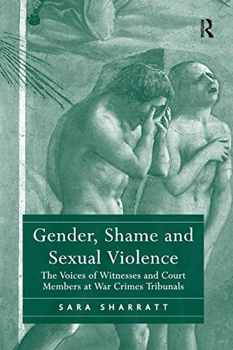 GENDER SHAME AND SEXUAL VIOLENCE