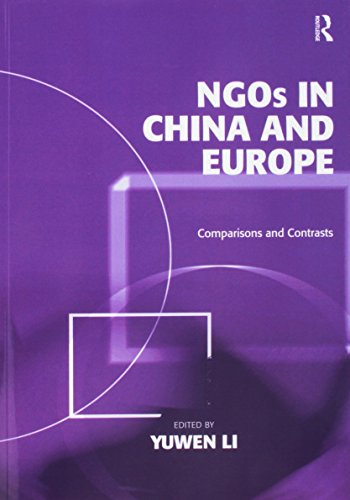 NGOs in China and Europe: Comparisons and: LI, YUWEN