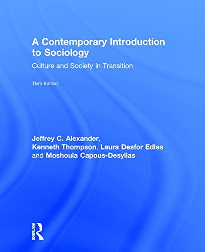 9781138282032: A Contemporary Introduction to Sociology: Culture and Society in Transition