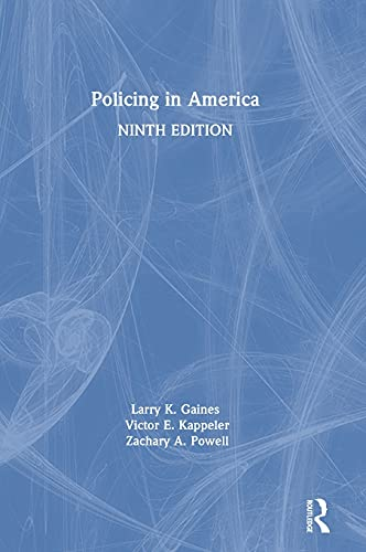 9781138289024: Policing in America