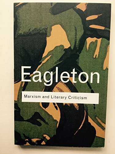 9781138301399: Marxism And Literary Criticism [Paperback] [Jan 01, 2017] NA [Paperback] [Jan 01, 2017] NA