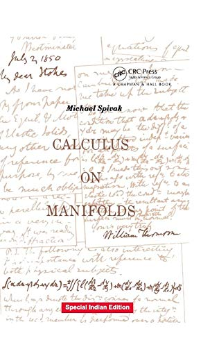 9781138329393: Calculus of Manifolds