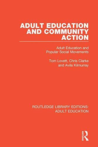 Adult Education and Community Action: Adult Education: Kilmurray, Avila