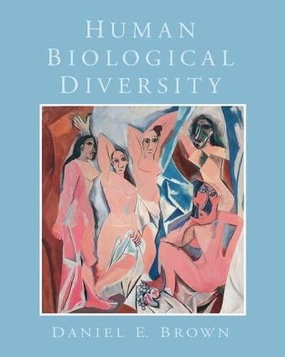 9781138403802: Human Biological Diversity